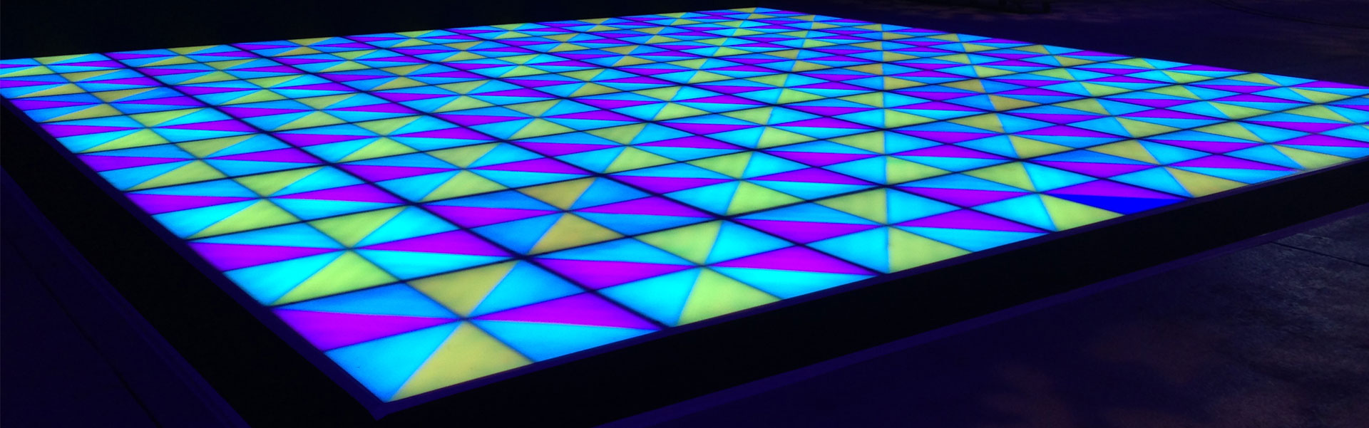 Illuminated Dance Floor Hire from Albert Hall Dancefloors