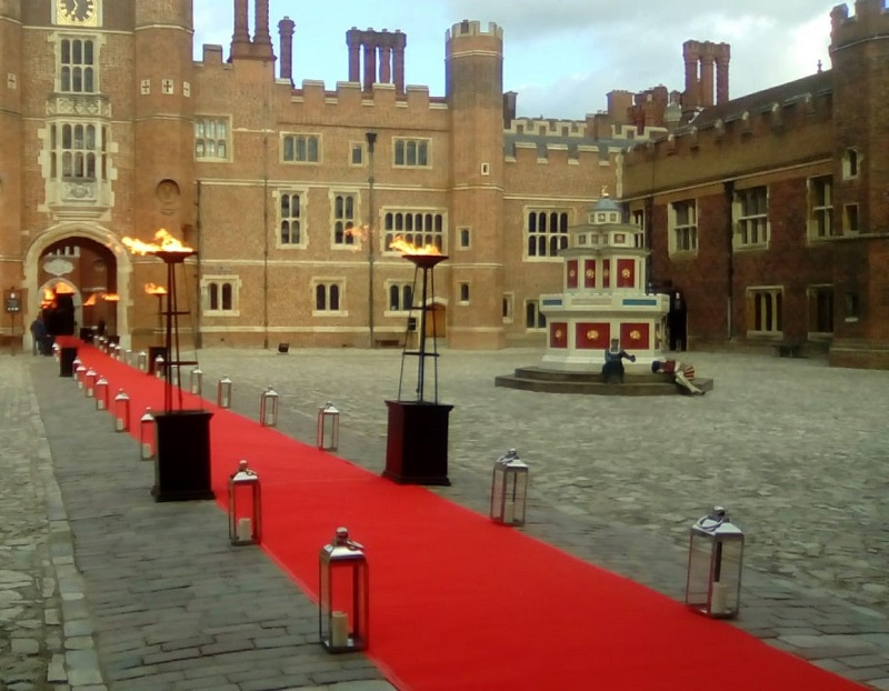 Red Event Carpet Hire