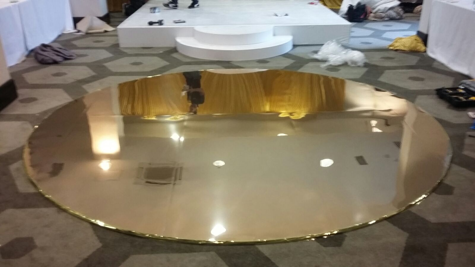 Circular Dance Floor Hire | Event and Party Furniture
