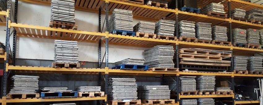 Dance Floors in our Warehouse