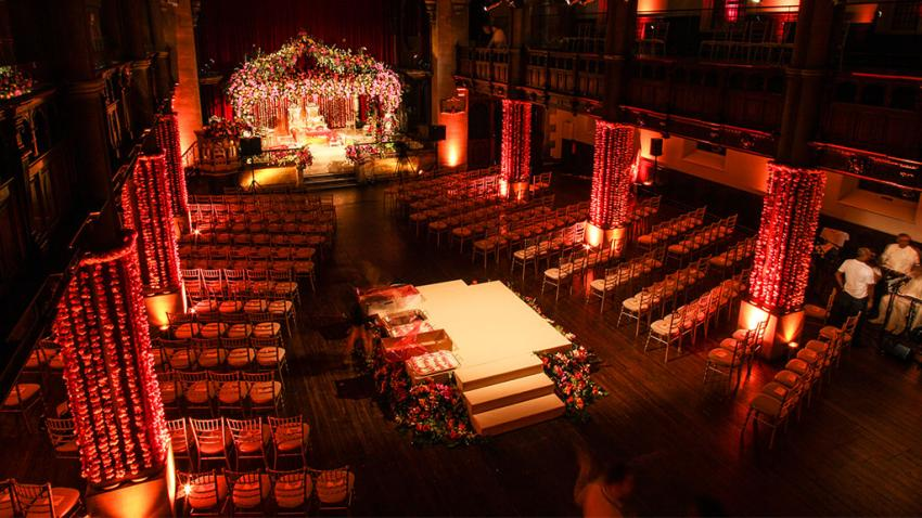 Stage hire for weddings from Albert Hall Dancefloors